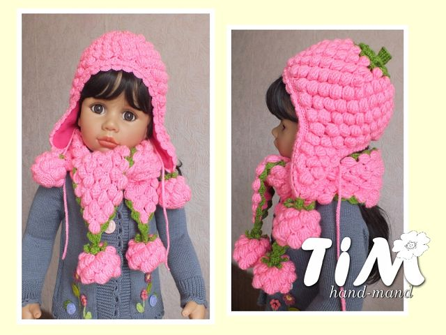 crochet pretty hats and scarves for kids