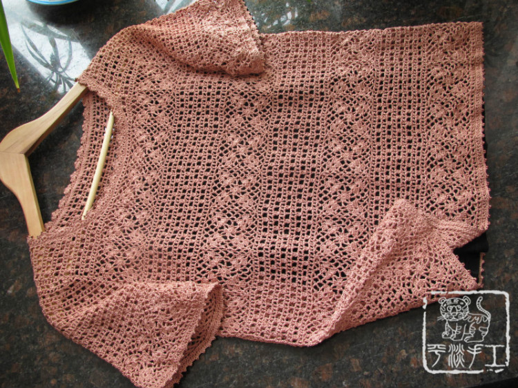 crochet summer top for girl