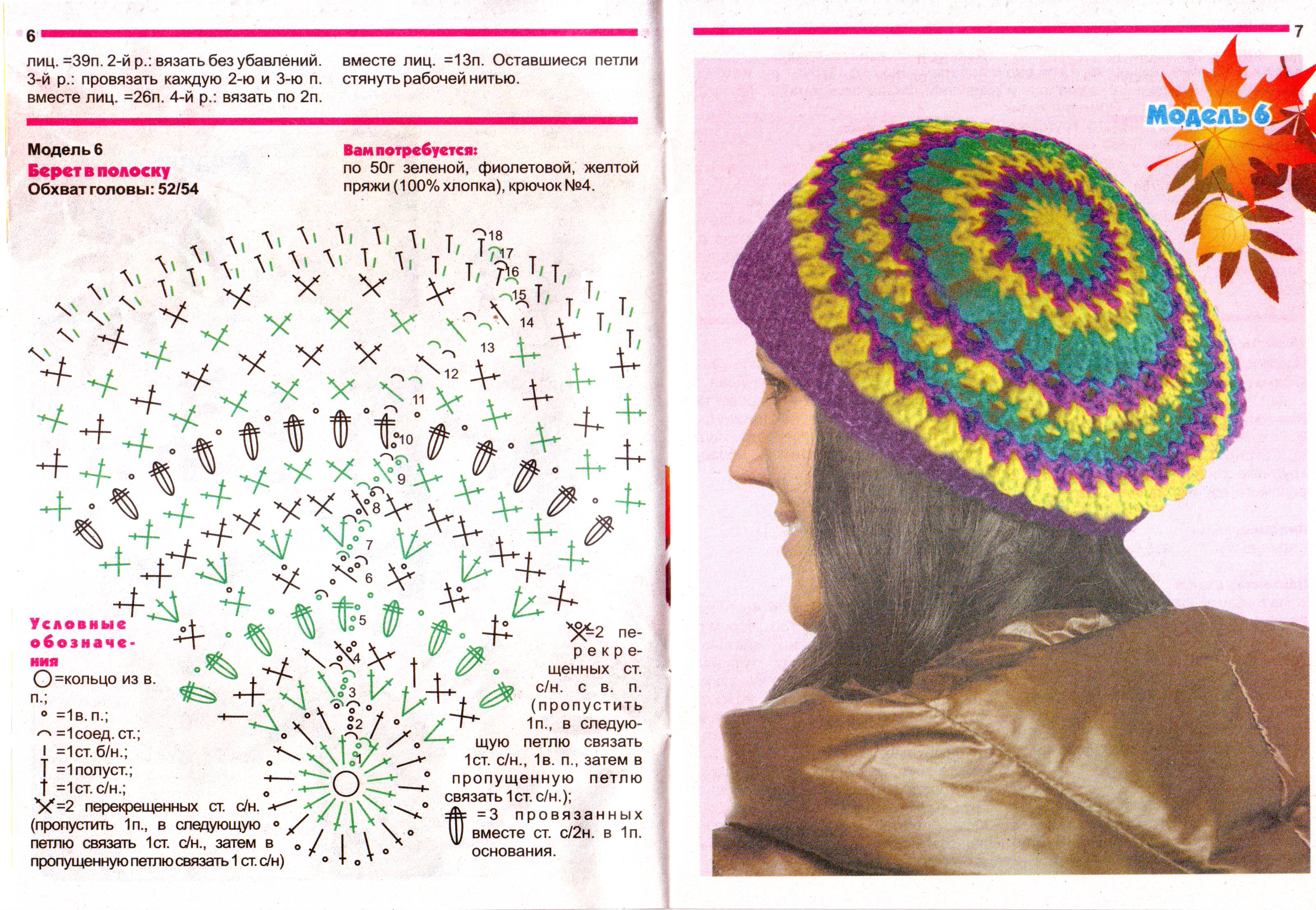 crochet beauty beret ideas